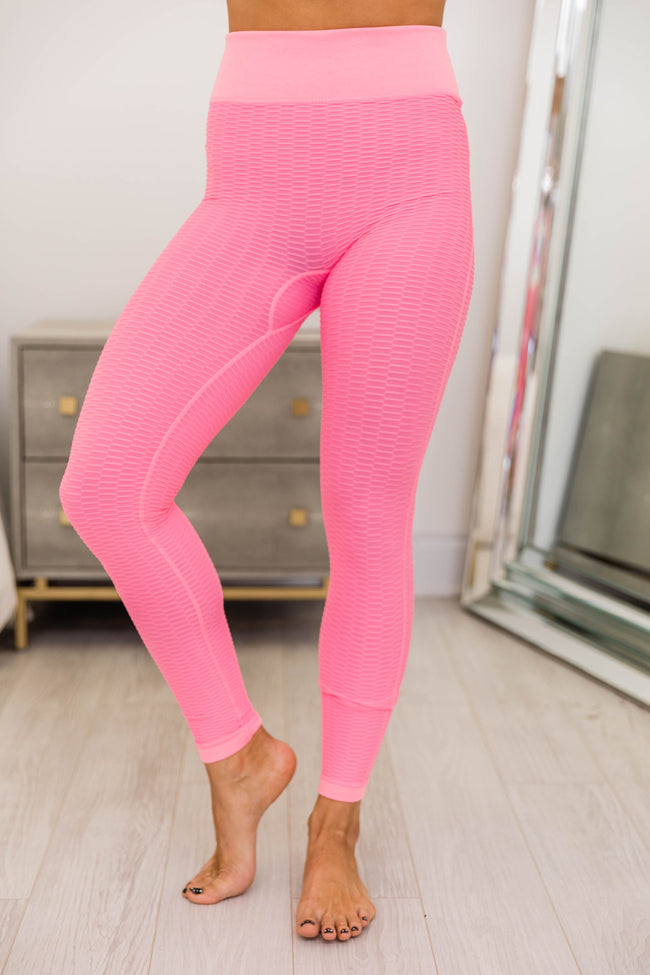 Move To The Beat Pink Leggings
