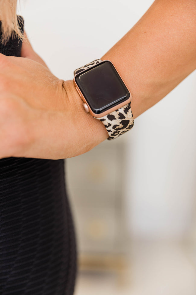 Run After Me Animal Print Watch Band