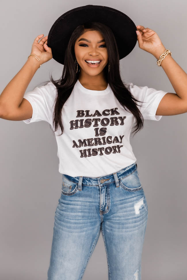 Black History Is American History Graphic Tee