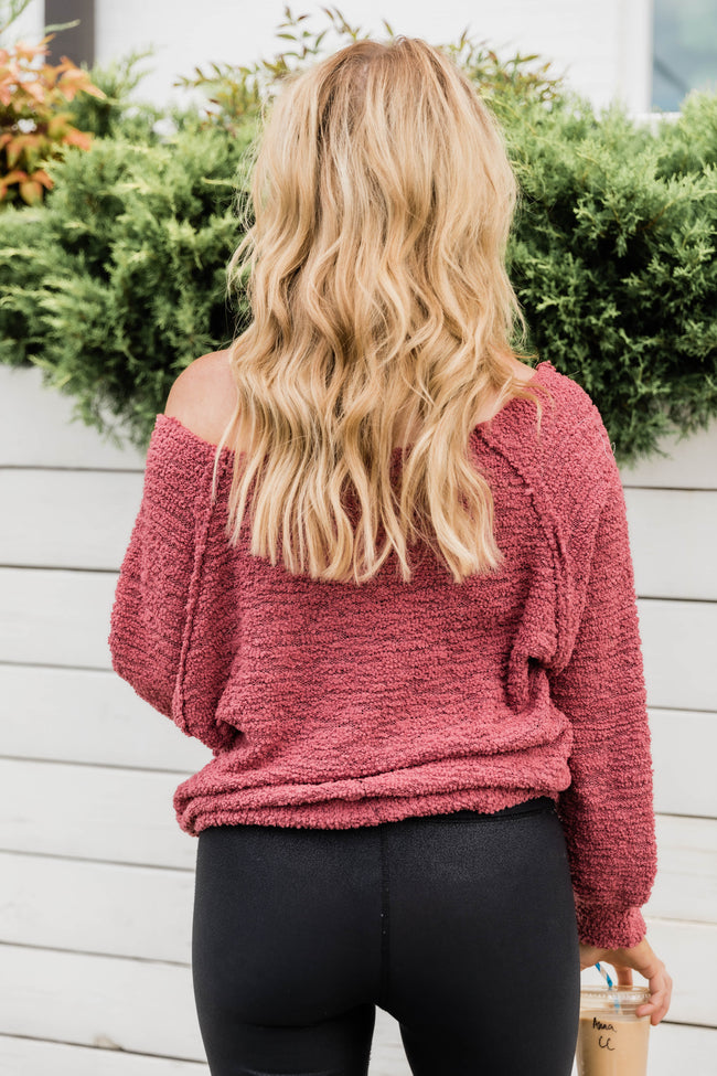 LIVING MY BEST STYLE X PINK LILY Comfy Cozy Popcorn Pullover