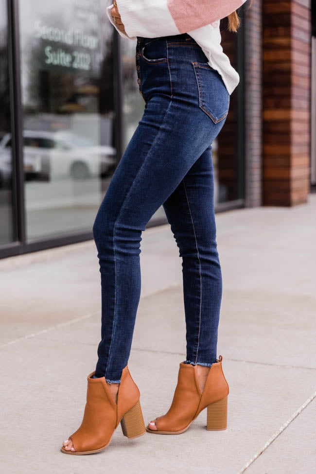 The Chelsie Dark Wash Jeans