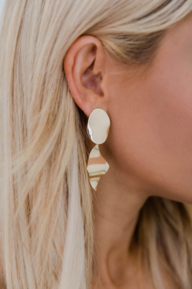 Boldly Beautiful Gold Earrings