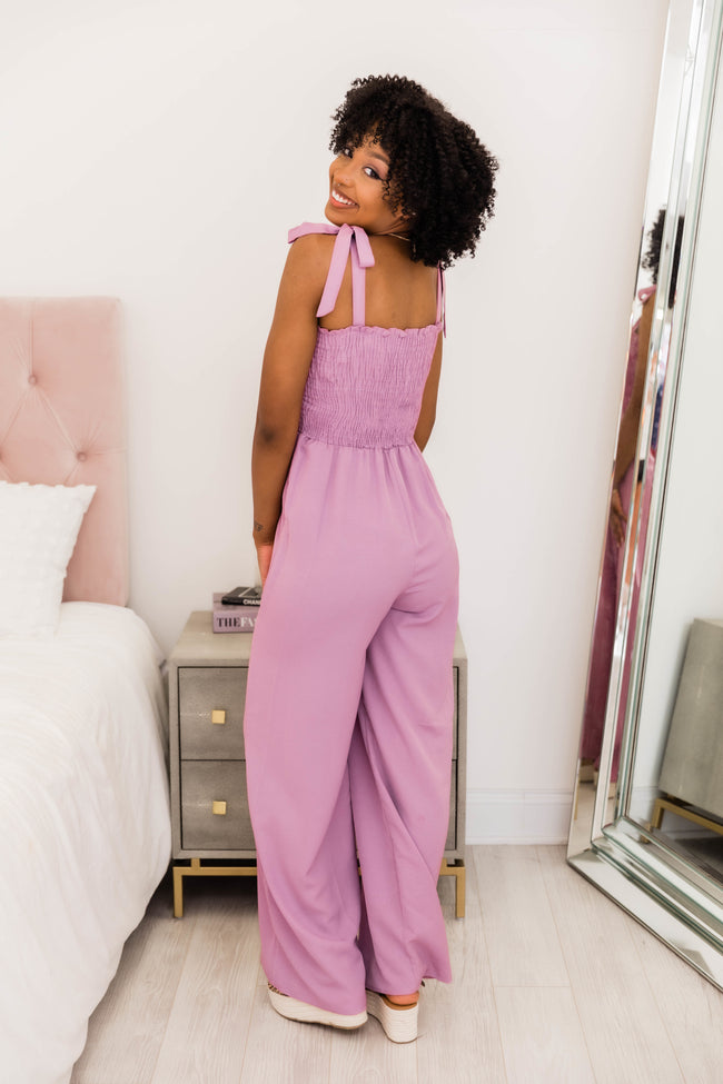 Chasing Beauty Purple Jumpsuit