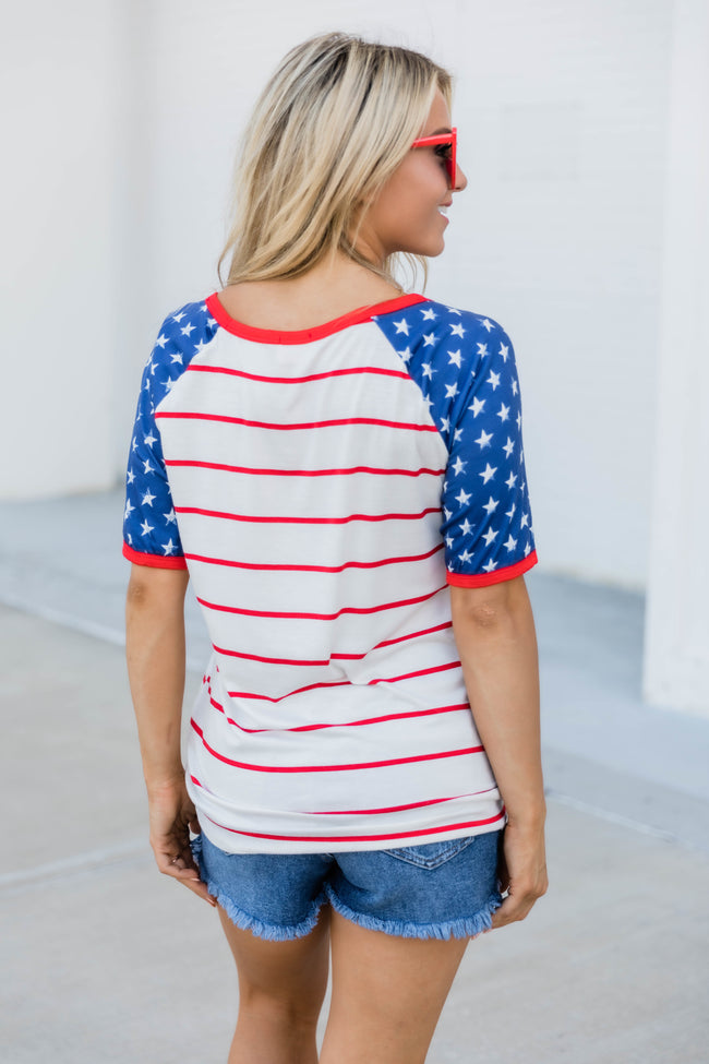 All The Stars and Stripes Tee FINAL SALE