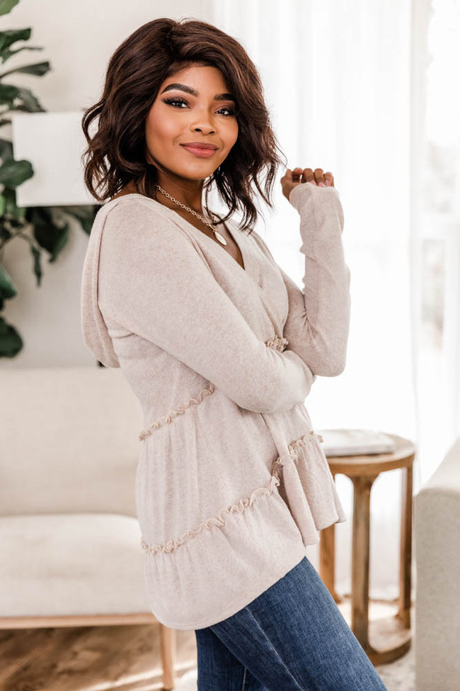 Thinking Out Loud Oatmeal Pullover