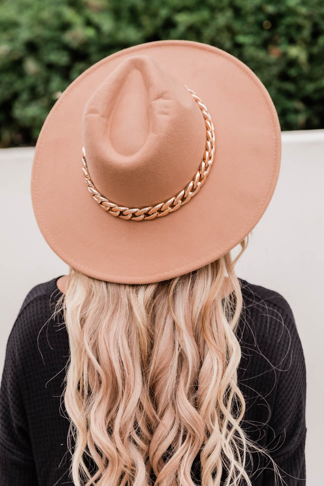Speechless Entrance Taupe Hat