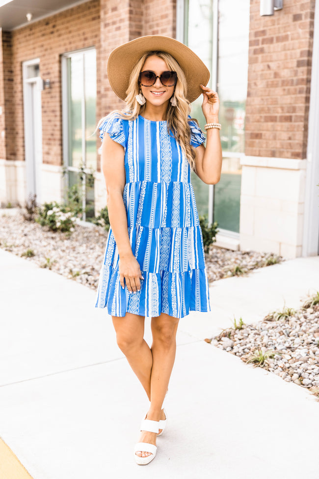 Forever Summer Dress Blue