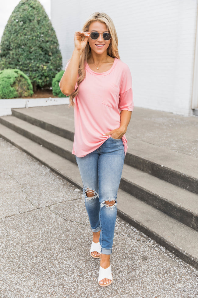 Simply In Love Tee Blush