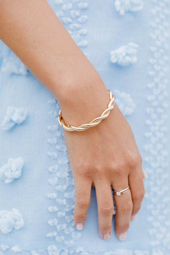 Mine Forever Bangle Bracelet Gold
