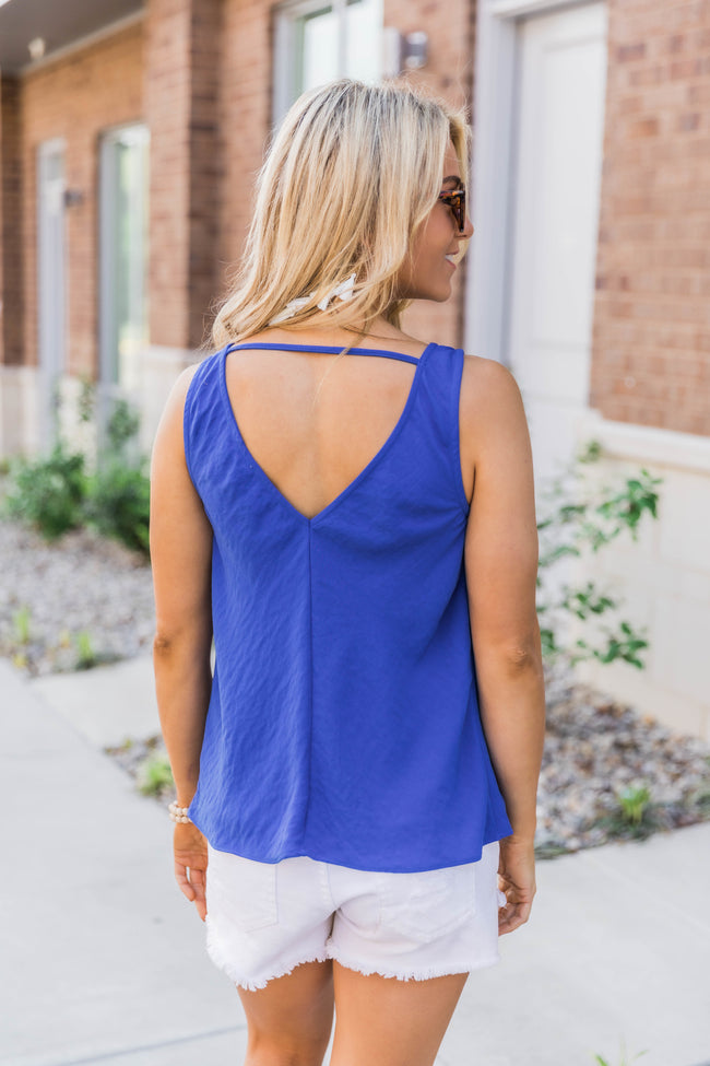 Have It Your Way Tank Royal Blue