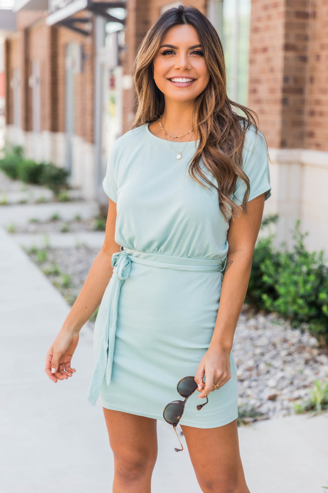 How About Now Dress Mint