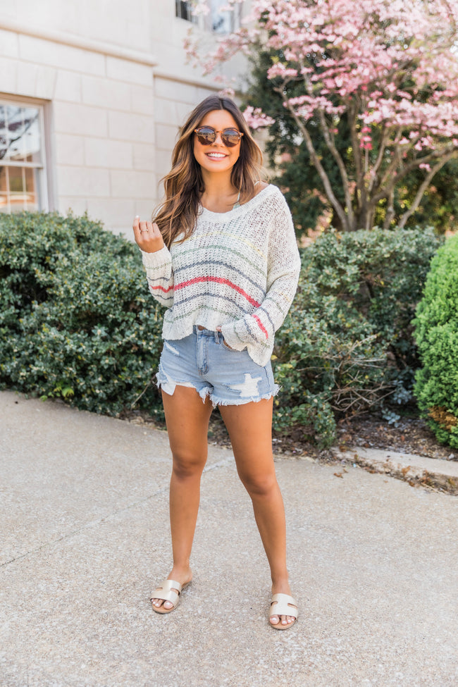 Bend The Rules Sweater Multi