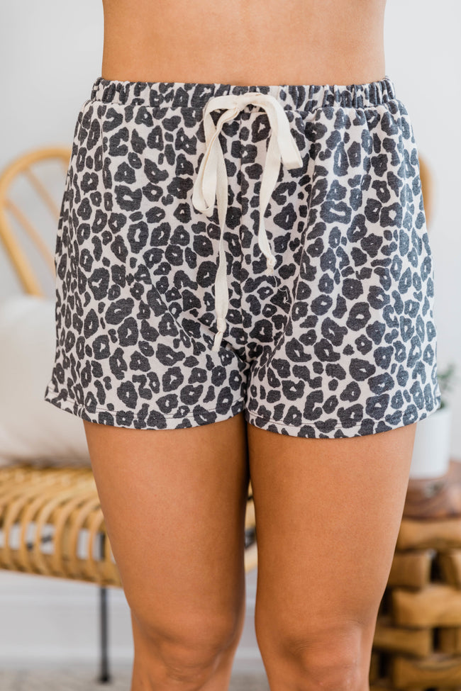 Wildly Yours Animal Print Lounge Shorts