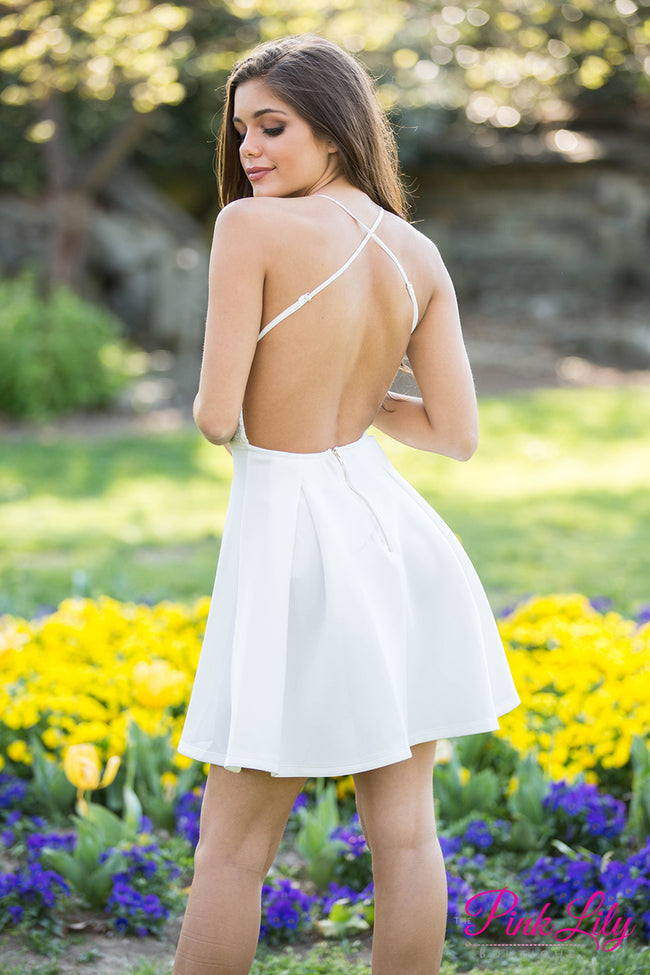 Looking For Love White Lace Dress