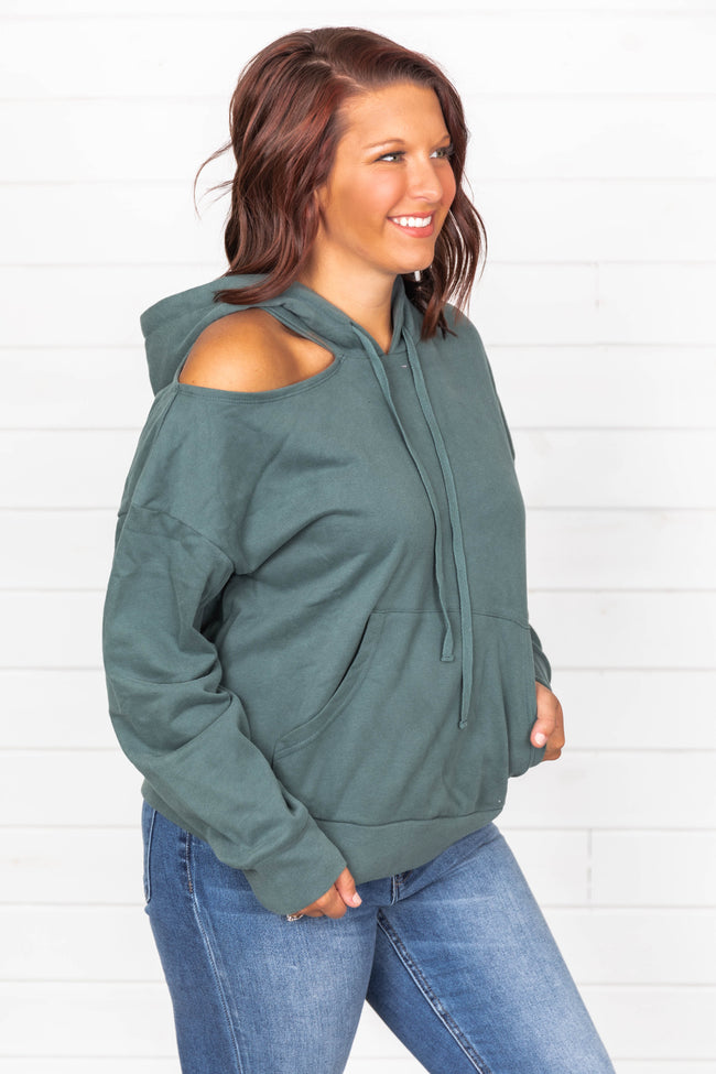 Unexplained Feelings Teal Pullover
