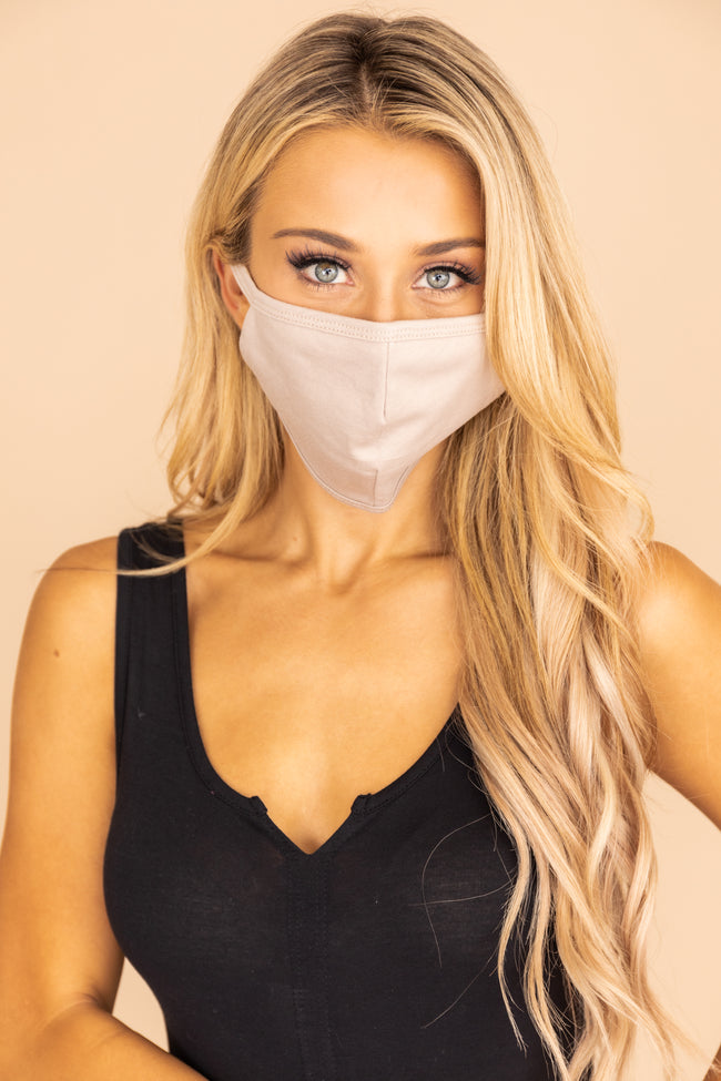 Stylish Disguise Taupe Mask