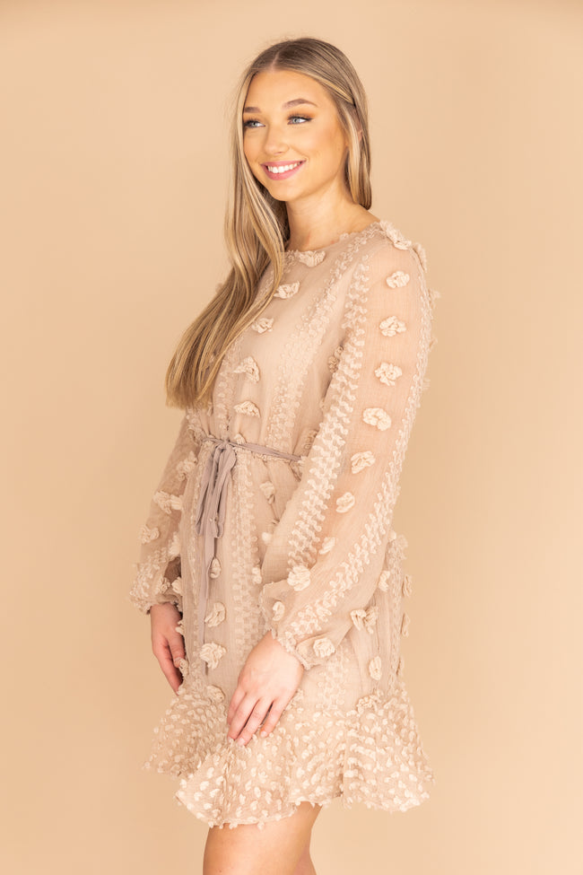 So Close To My Heart Mocha Dress