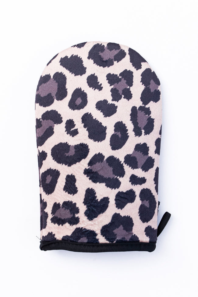 Effortless Days Animal Print Tanning Mitt