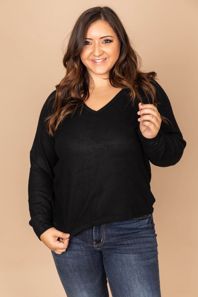 Bright Eyes Black Blouse