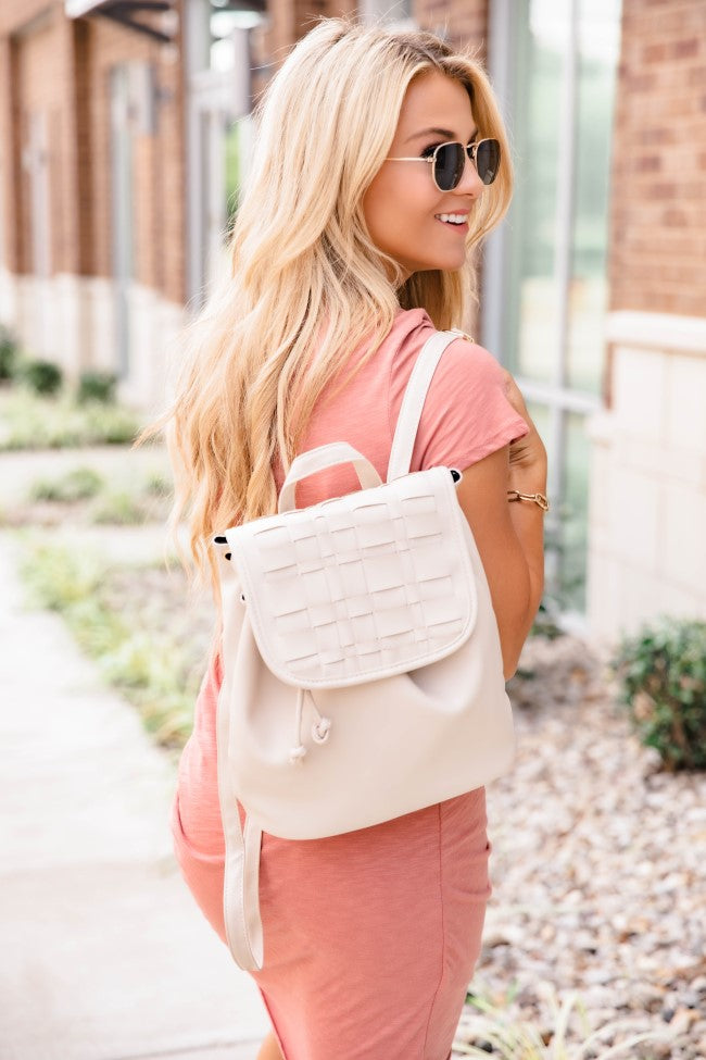 Adventurous Life Backpack Beige