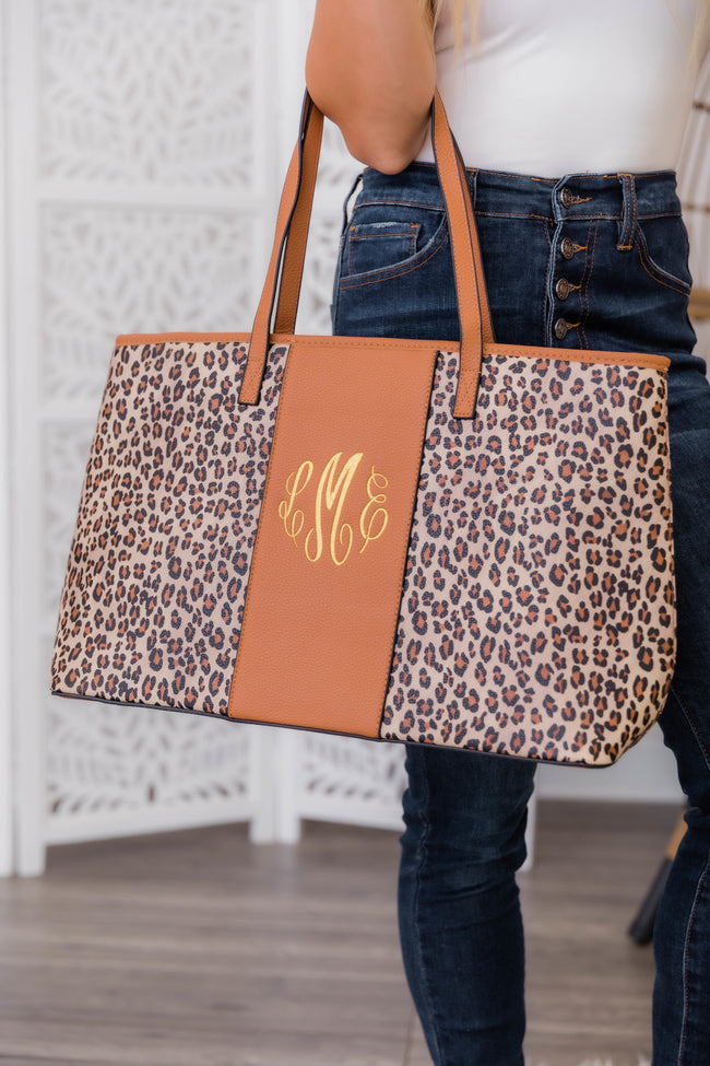 All Over The World Animal Print Tote