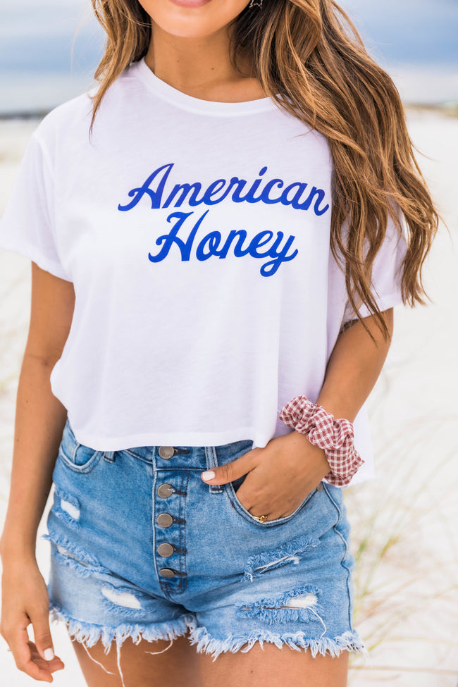 American Honey Cropped Graphic Tee