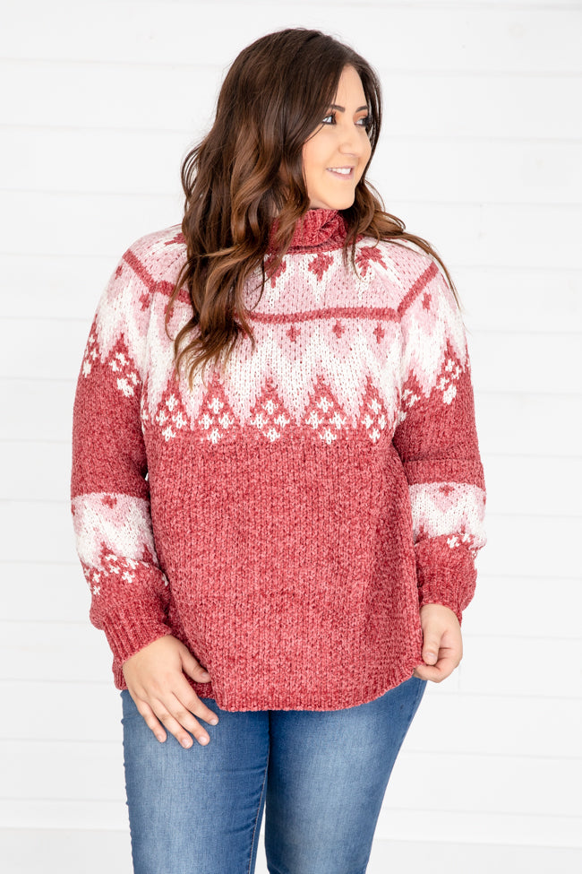 Believe This Is Real Red Sweater DOORBUSTER