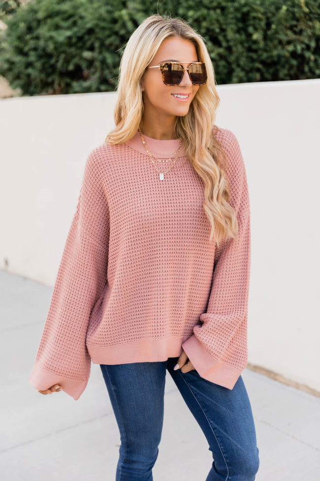Better Than You Know Dark Mauve Sweater FINAL SALE