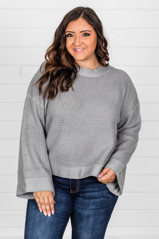 Better Than You Know Heather Grey Sweater