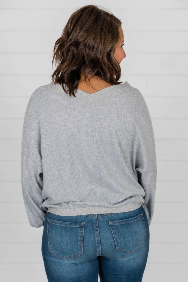 Brand New Day Grey Pullover