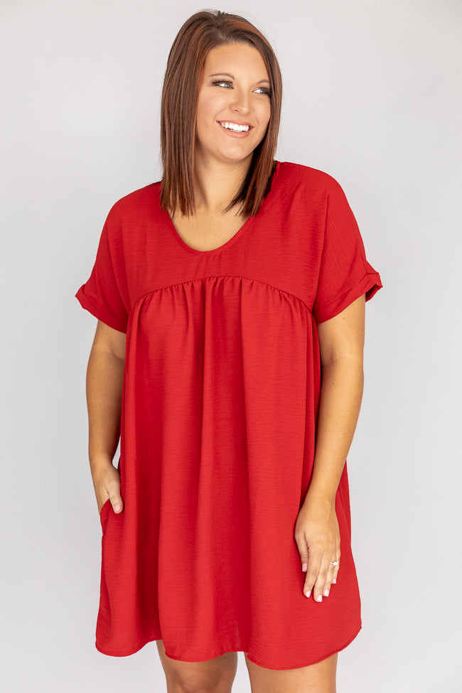 Connect To Your Heart Brick Dress CLEARANCE