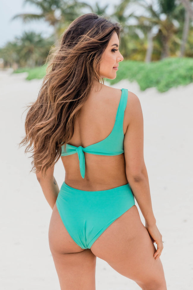 Escape The Weekend Swimsuit With Side Cutouts Palm