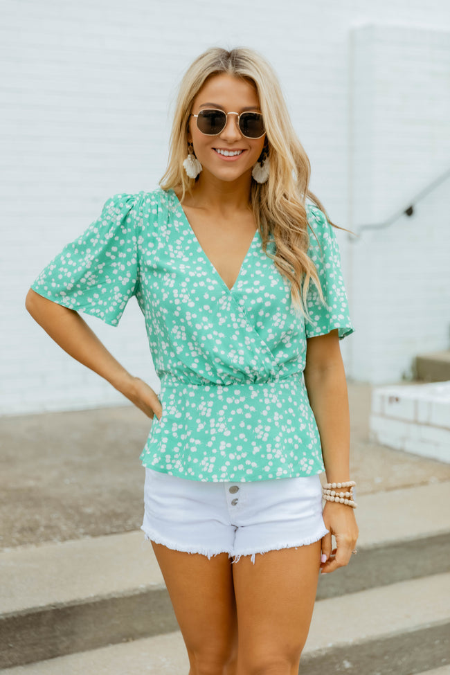 Growing Gracefully Blouse Mint