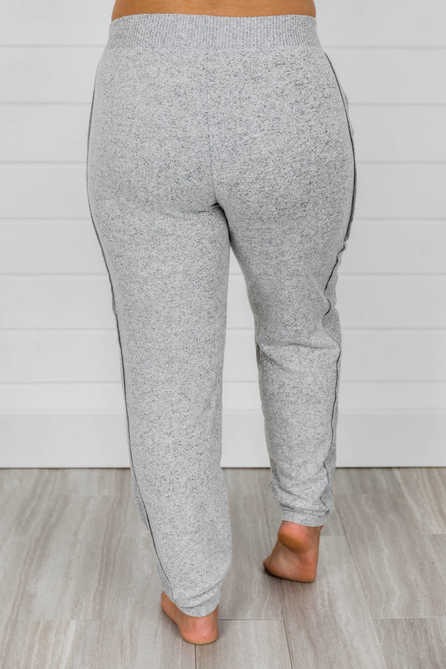Here For You Heather Grey Joggers