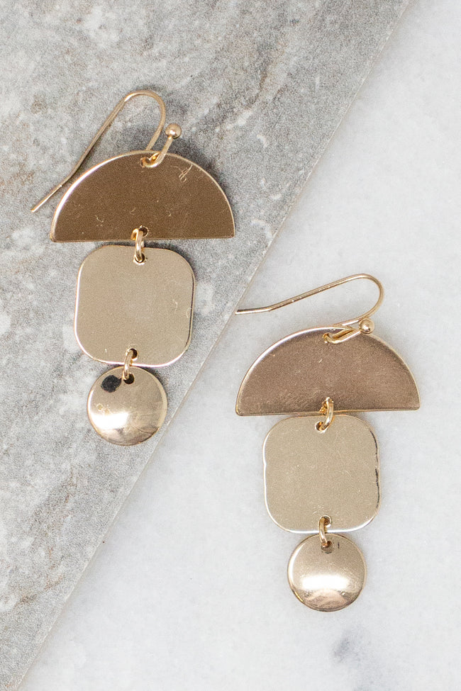 I Need You So Gold Earrings