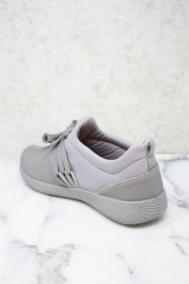 The Allie Grey Sneakers FINAL SALE