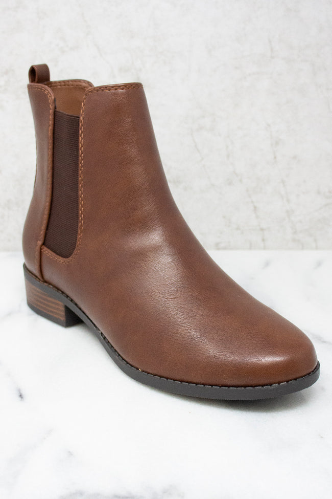 The Sasha Brown Booties  FINAL SALE
