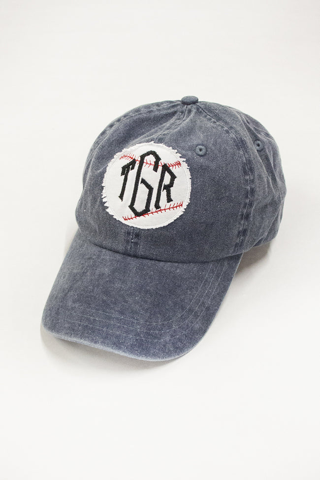 Personalized Vintage Baseball Cap Denim