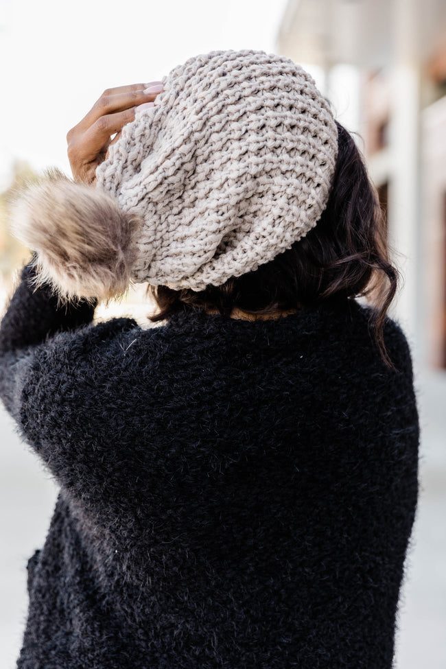 Knitted with Perfection Mocha Beanie