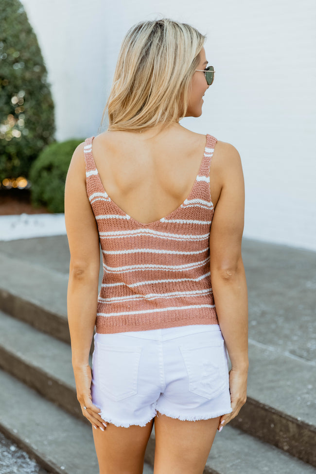 Lead The Way Sweater Tank Mauve