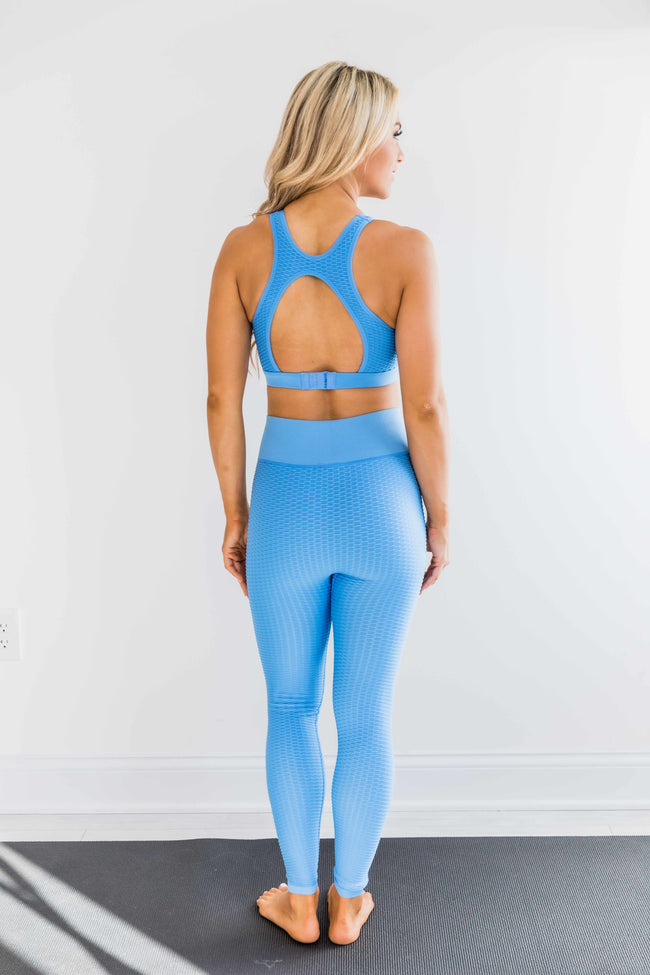 Move To The Beat Leggings Blue