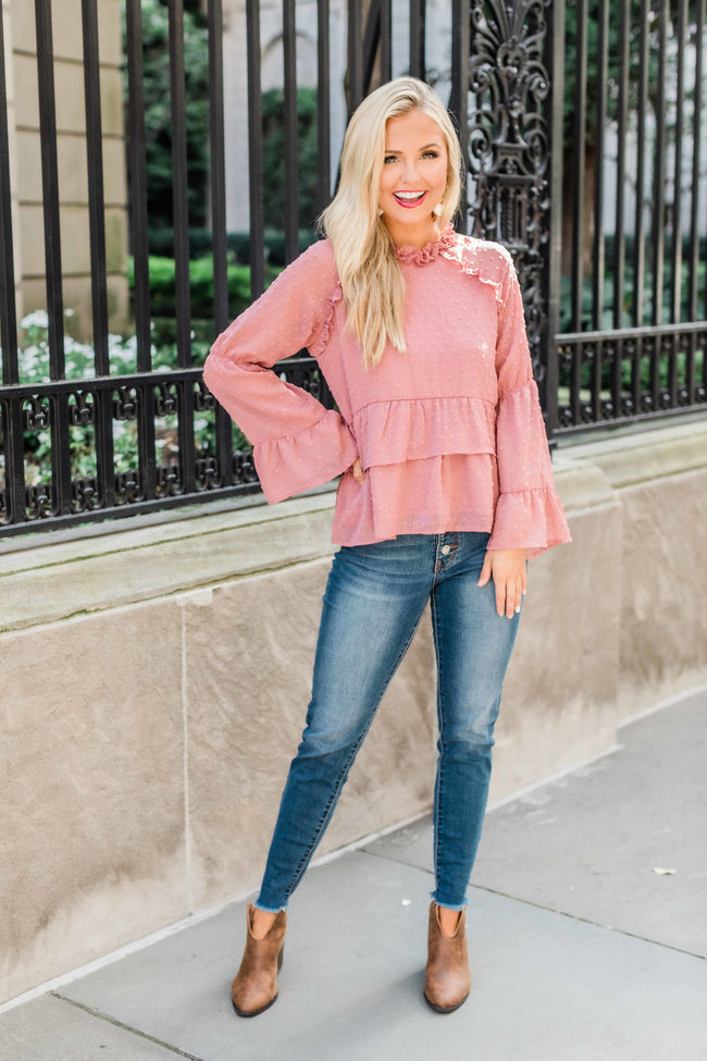 My Perfect Match Rose Blouse