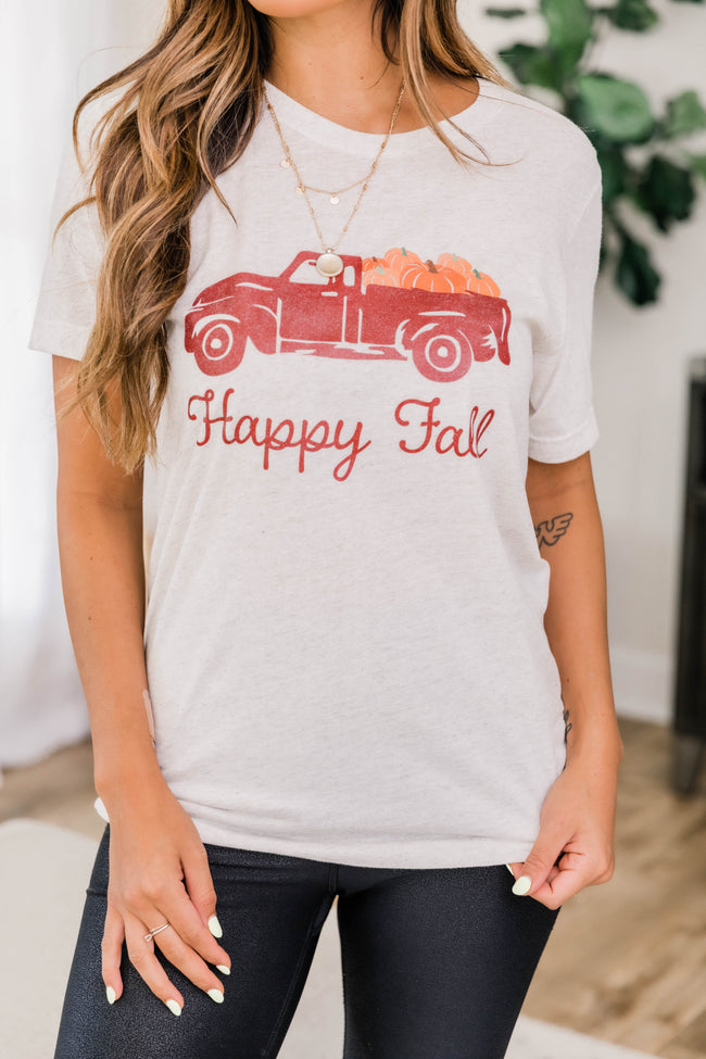 Trucking Along Fall Graphic Tee