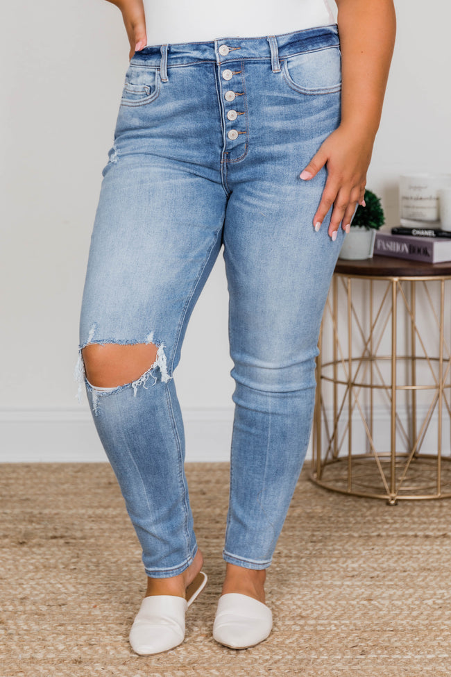 Selena Distressed Jeans
