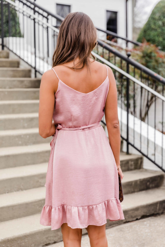 She's The Romantic Type Mauve Dress FINAL SALE
