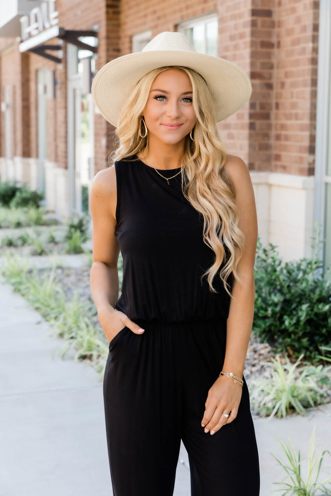 So Much Love Black Jumpsuit