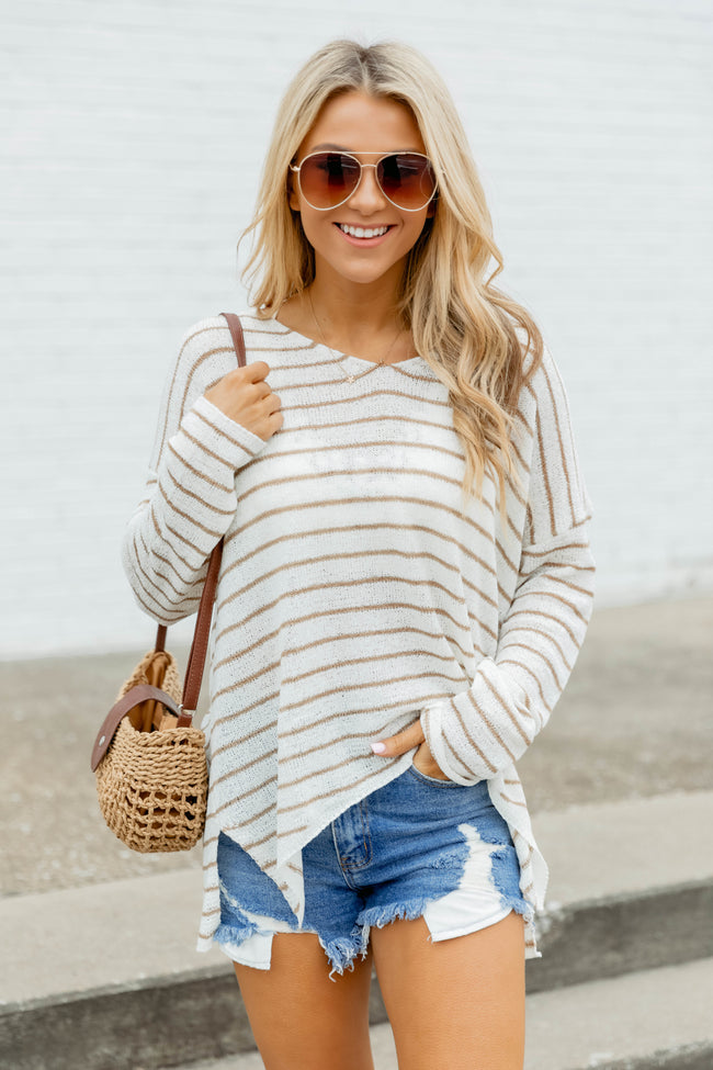Something About You Sweater Ivory/Beige