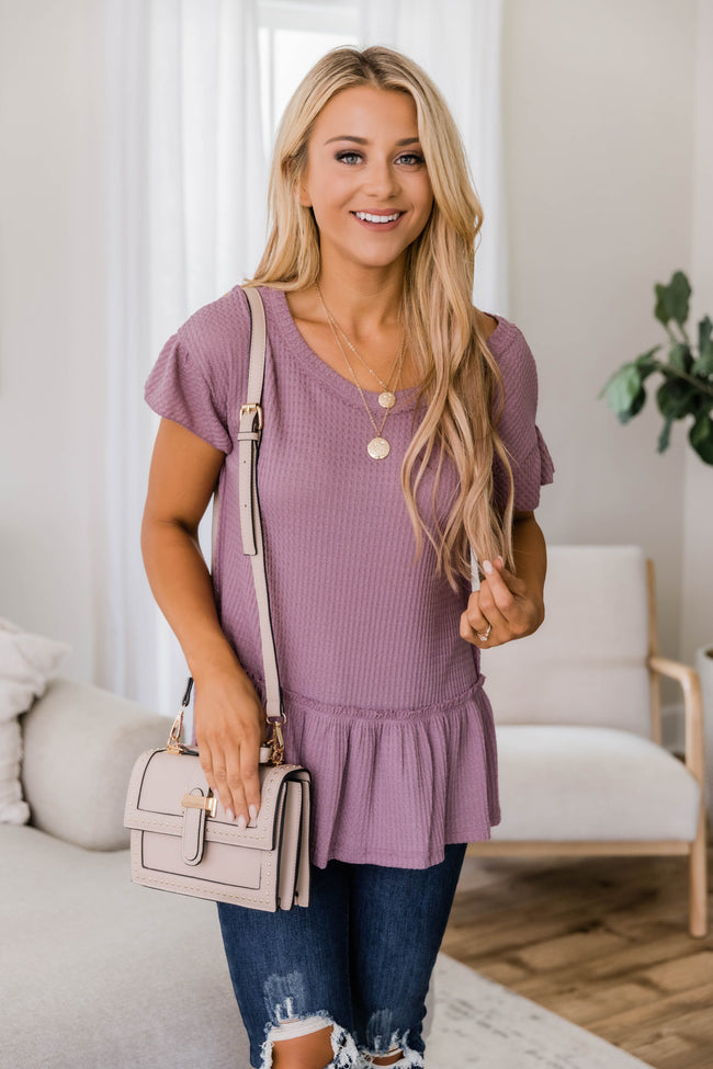 Story Of Us Blouse Mauve