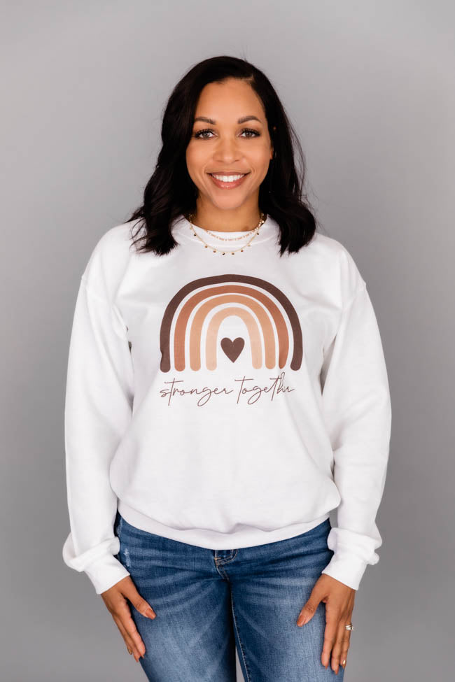 Stronger Together Graphic Sweatshirt