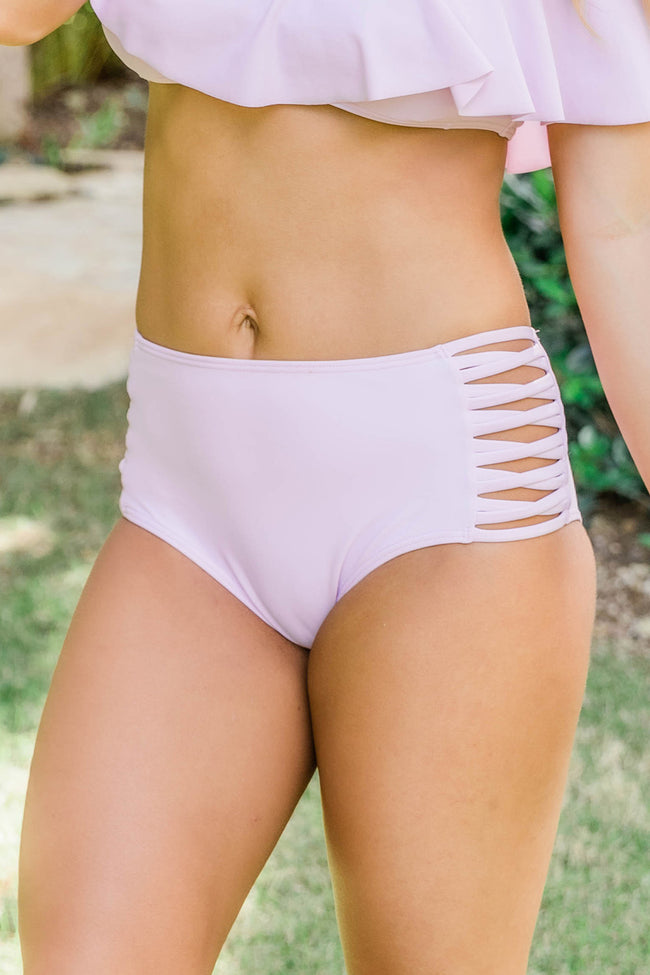 Sweetest Escape Lilac Swimsuit Bottom CLEARANCE